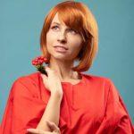 lucha contra el cáncer y pelquería de mujer
